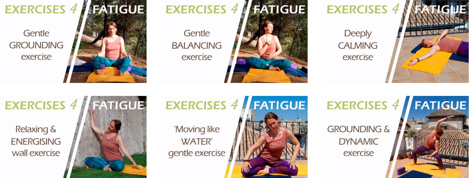 Gentle Exercises for Chronic Fatigue and Chronic Pain